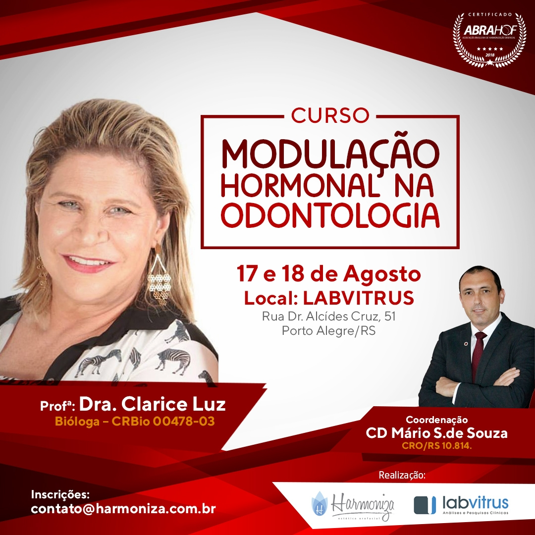 CURSO DE MODULAÇÃO HORMONAL NA ODONTOLOGIA