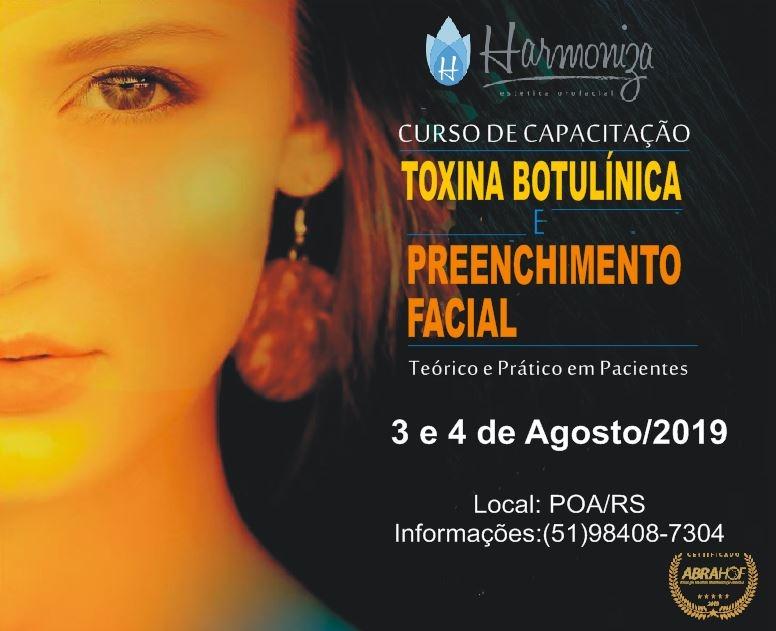 Curso de Toxina Botulínica e Preenchimento Facial