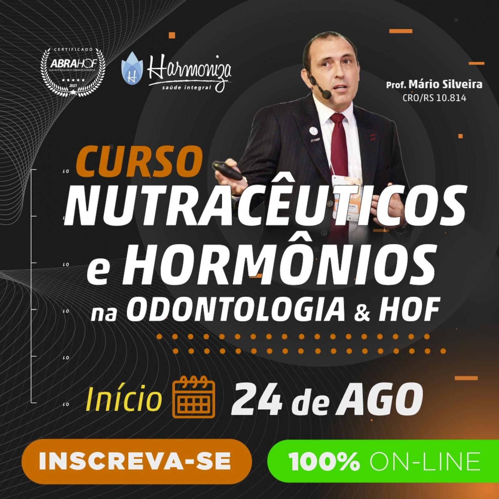 Curso Online Hormônios na Odontologia e na HOF - Turma 7